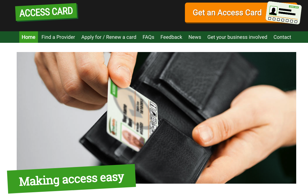 Access Card – Making access easy