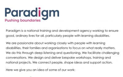 Paradigm Newsletter
