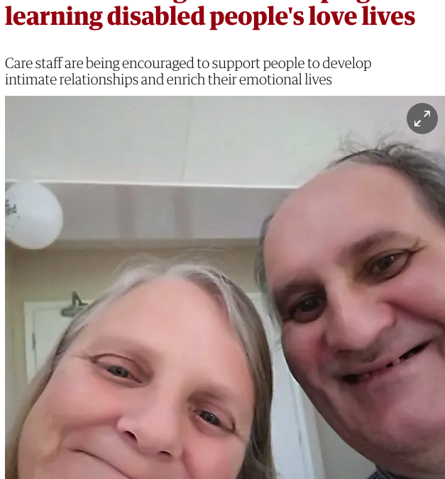 'It's a human right': the campaign for learning disabled people's love lives