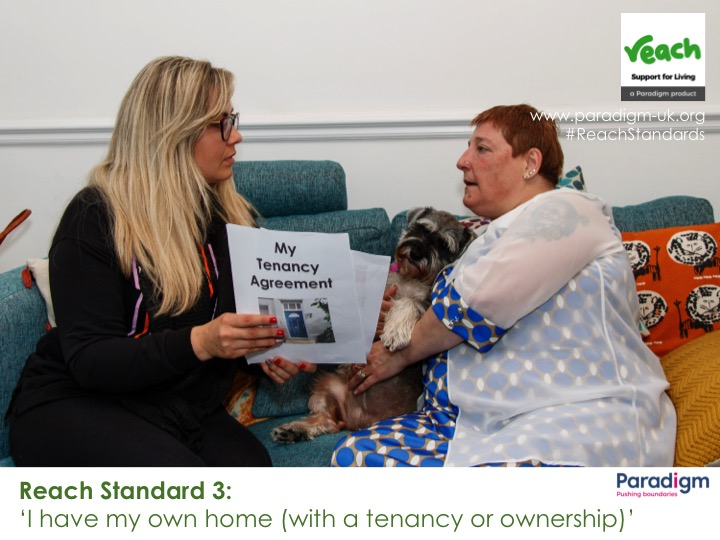 Reach Standard #3…I HAVE MY OWN HOME WITH A TENANCY OR OWNERSHIP