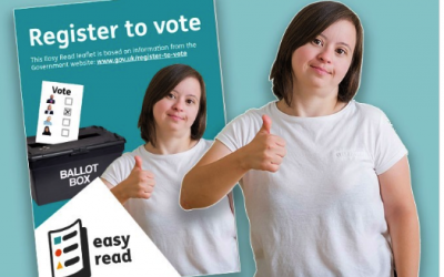 Register to Vote for 12th December (Easy Read)