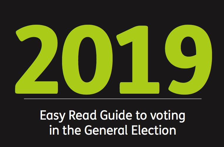 Easy Read Guide to Voting #Vote19 (Mencap)
