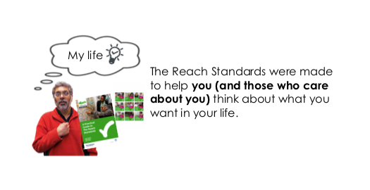 Introducing the Reach Standards (Easy Read version)