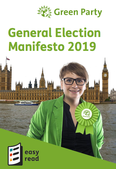 Green Party Manifesto Nov 2019 (Easy Read)