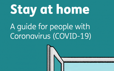 Stay at Home (an Easy Read guide for people with Covid-19)