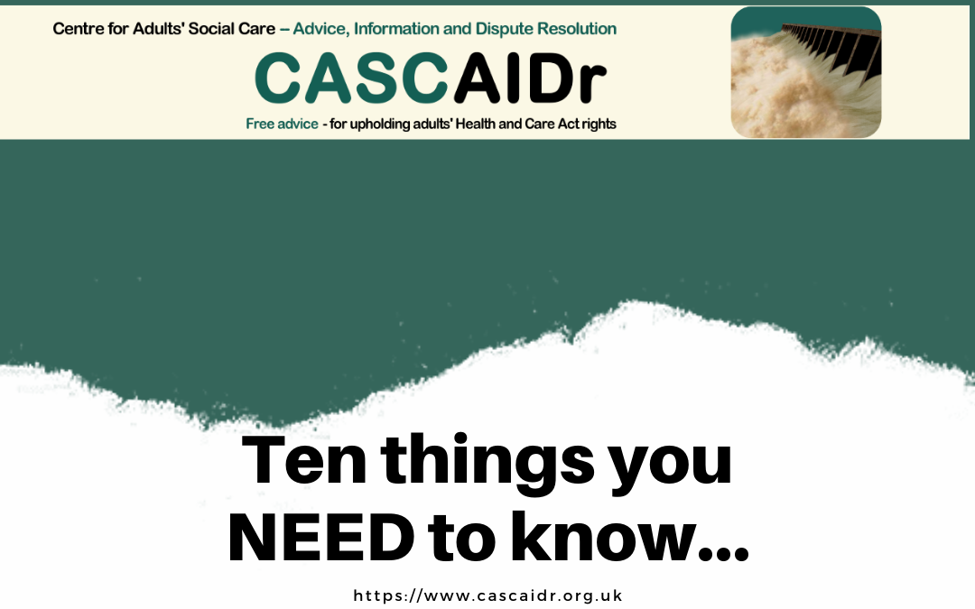 Ten things all care home managers should know (During the Covid-19 Pandemic)