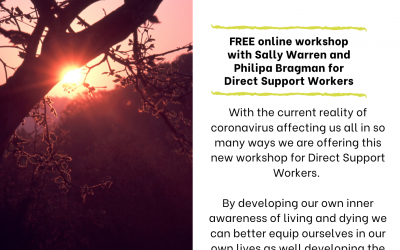 Living with Dying, Death and Grief (Free online workshop)