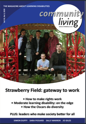 Community Living Magazine (Current issue online and FREE)