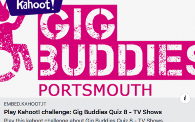 GigBuddies Portsmouth and the Lockdown Quizzes!