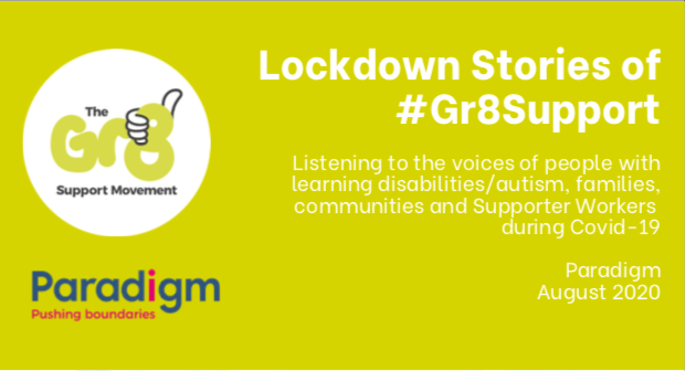 Lockdown stories of #Gr8Support