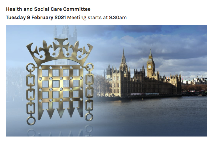 Health and Social Care Comm: Subject: Treatment of autistic people and individuals with learning disabilities