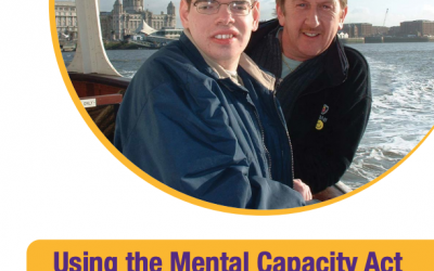 A report 'Using The Mental Capacity Act: A resource for families and friends of people with learning disabilities'. HFT