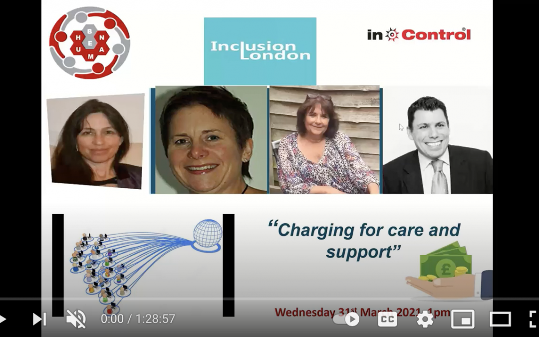 Let's talk about … charging for care and support (Webinar recording)