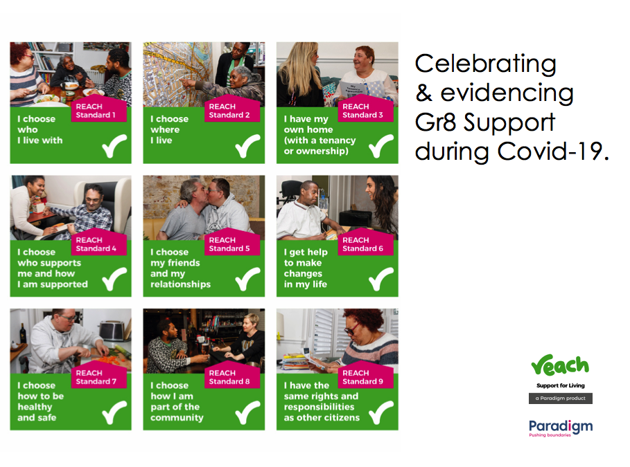 Celebrating  & evidencing Gr8 Support during Covid-19. (A resource)